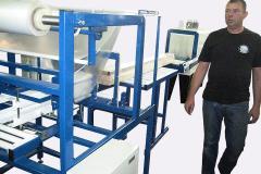 Полуавтоматическая шеренга для того упаковки пиломатериалов Альфапак-ДРВ ПА