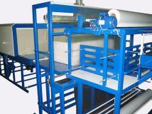 Пневматический термонож постоянного нагрева от пневмотолкателем Альфапак-МПА-Т